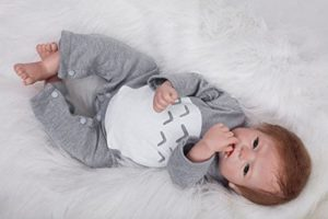 Bebé Reborn Chico Hoomai tumbado